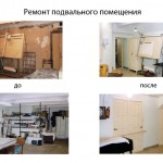 Ремонт подвального помещения