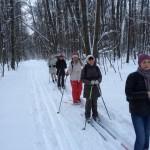 Лыжная прогулка по парку «Лосиный остров»